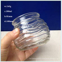 380ml Glass Candle Jars with Factory Price