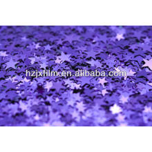 Tinsel garland polyester film