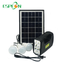 Espeon New Model Portable Black Poly Panel Mini Home Solar Power System