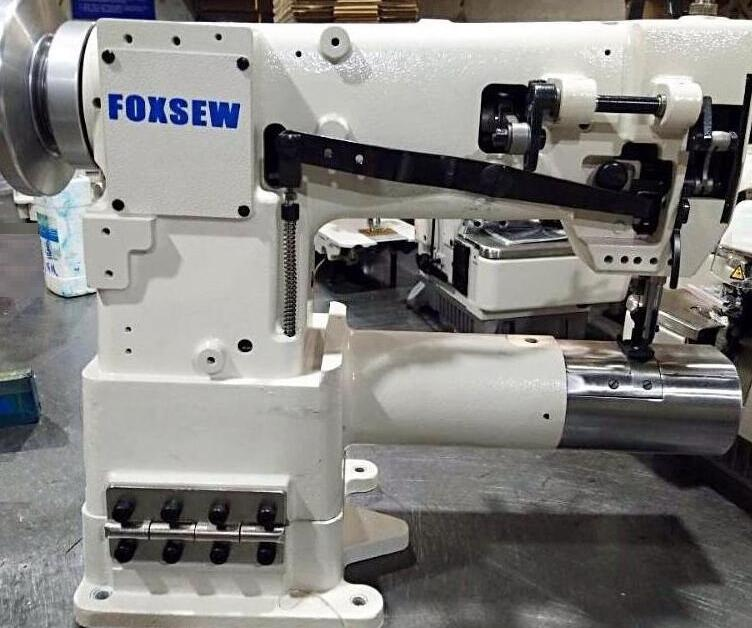 China Double Needle Cylinder Bed Heavy Duty Sewing Machine ...