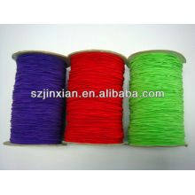 5mm Colored Elastic Rubber Power Cord/Rope