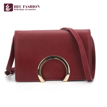 HEC Factory Price Pu Leather Fashion Bags Women Shoulder Bag