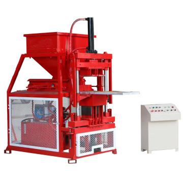 Bloco de cimento de solo estabilizado a pé euro que faz a máquina