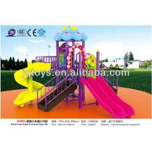 Mushroom Angel plastic kids paradise slide