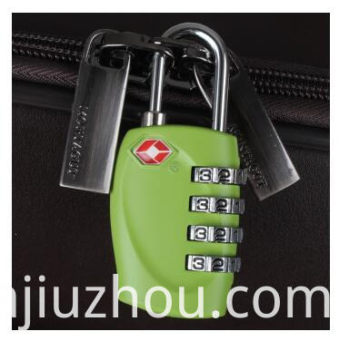 Luggage Lock Zinc Alloy 3 Digital