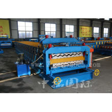 Metal Roof Color Steel Double Layer Forming Machine