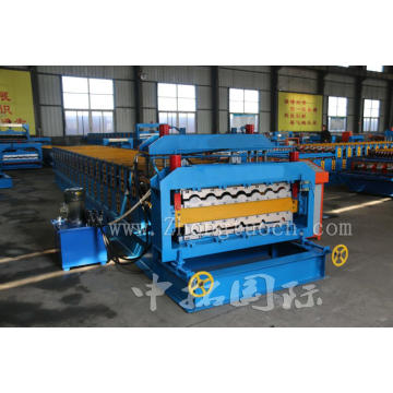 Panel Rib Double Layer Machine For Roofing