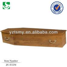 Zinco de estilo simples manipula profissional forro para o caixão do paulownia