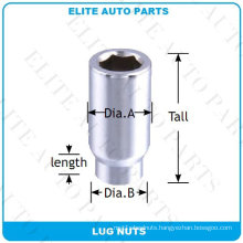 6 Point Tuner Acorn Et Lug Nut for Car Wheel