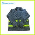 100% Polyurethane Raincoat Breathable PU Raincoat Rum-010