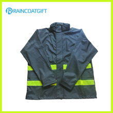 100% Polyurethane Raincoat Breathable PU Raincoat Rum-010
