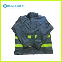 100% Полиуретановый плащ Дышащий PU Raincoat Rum-010