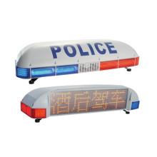 Pantalla pantalla policía proyecto ADVERTENCIA luz de barra LED (TBD-2900)