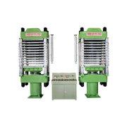 Máquina hidráulica prensa caliente de PVC azulejos