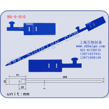 name brand tags BG-S-010, plastic container seals