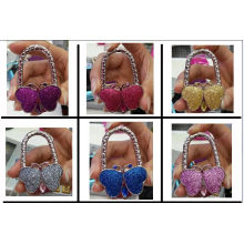 Butterfly Shape Purse Hanger for Bag Decoration