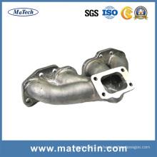Fundição de ferro de alta performance personalizada para Turbo Exhaust Manifold