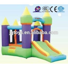 JQ-YEK5008 China Soft Indoor Entertainment small inflatable castle Playground for Kids with slide for sale