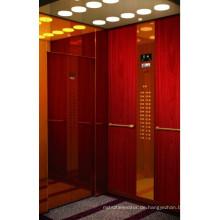 Maschinenraumloser Aufzug mit einer Kapazität von 1350 kg