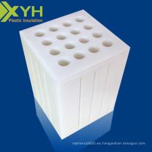 CNC uhmw PE piezas de plástico de plataforma de deslizamiento mecánico