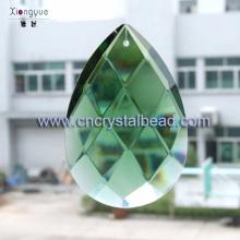 DD12 vert suédois coupe cristal de lustre