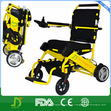 Lightweight Aluminum Folding Electric Power Wheelchair