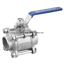 3-PC 316 Stainless Steel Ball Valve