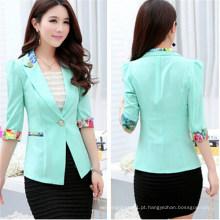 2015 novo estilo primavera moda colorido mulheres ternos (50090)