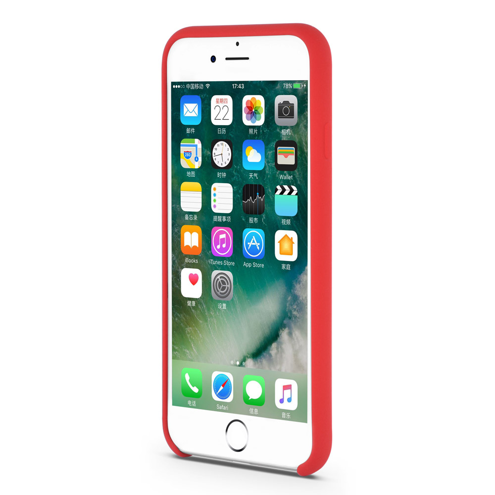 liquid silicone iphone case