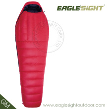 Red Waterproof Nylon 100%Cotton Sleeping Bag