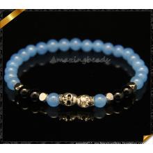 Joyería de moda suministros pulseras de piedra en las ventas (CB090)