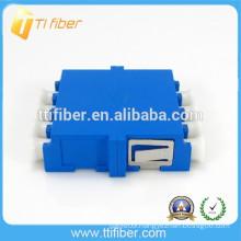 Singlemode Quad LC Optical Fiber Adapter