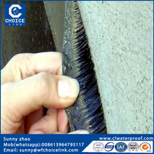 self adhesive bitumen waterproof roofing membrane with PE membrane
