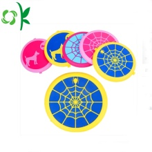 Spider-Wed Silicone Traning Dog Leksaker Pet Chew Frisbee