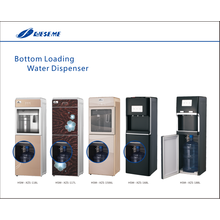 Dispensador de agua de carga inferior enfriada con hielo