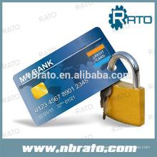 clé maître personnalisée 40 mm Verrouillage de carte de crédit