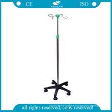 AG-Ivp003 Medical IV Pole with 4 Castor
