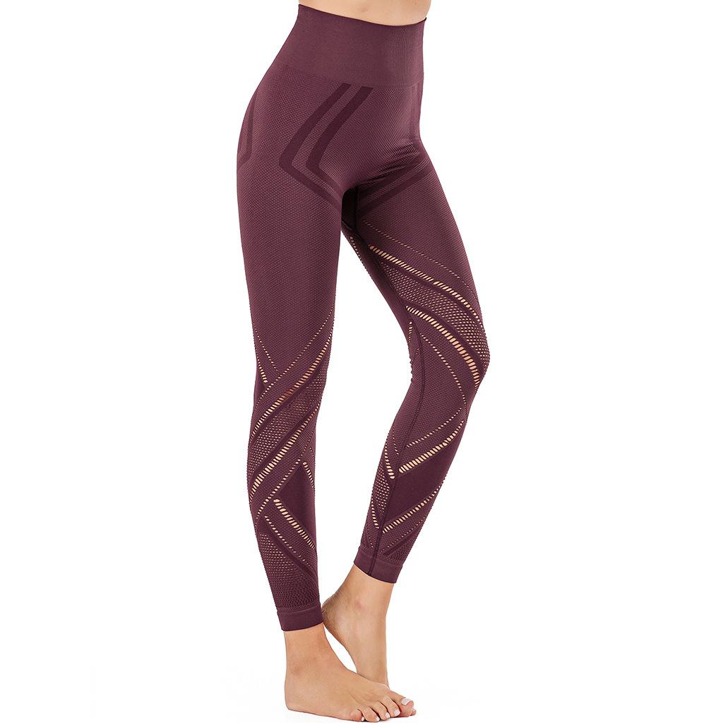 HIGH WAIST PUSH UP ELASTIC pants (2)