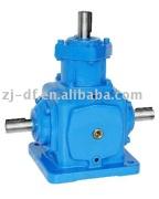 T series helical umbrella gear transmission box