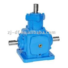 T series helical umbrella gear transmission box