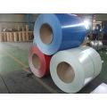 Bobina de aluminio recubierta de colores