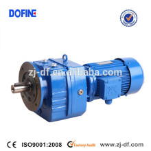 RF107 helical gearbox geared motor Conveyor drive vertical Mixer Agitator