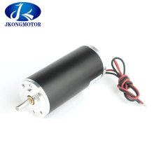 High Speed 11000rpm 52mm Brush DC Motor Electric DC Motor 24V with Factory Price