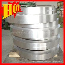 Anillo de titanio de tamaño personalizado Gr4 con alta calidad