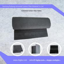 Tratamiento de agua con fibra de carbono usado Fieltro de carbono activo