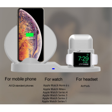 Wireless Charger 3 in 1 Wireless Charging Station