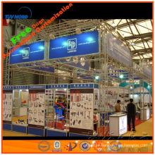 Aluguer / aluguel / locação / locação de alumínio grande display stand ou estande para grande feira