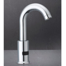Chrome Kitchen Bathroom Mãos Free Tap