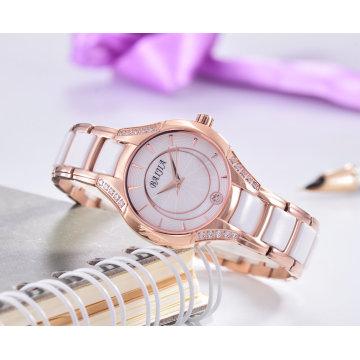 Moda Exquisite Quarts Ladies Relógio de pulso