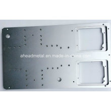 Große Aluminium verchromt für Maschinen CNC-Bearbeitung Teil in hoher Präzision verwendet